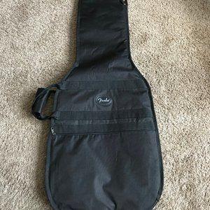 Fender Black Guitar Carrying Case.